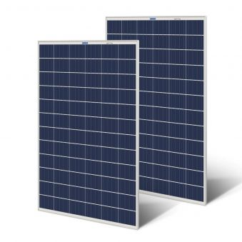 Luminous Poly Crystalline Solar Panel 165 Watt- 12 Volt (Pack of 2)