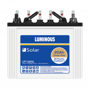 Solar Battery 20 Ah – LPT1220L