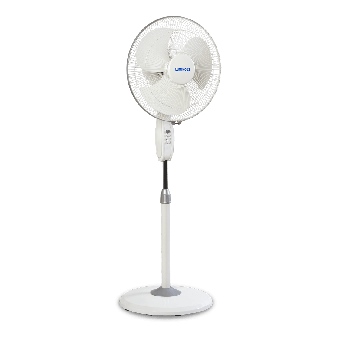 400 mm Mojo Plus White Pedestal Fan HS