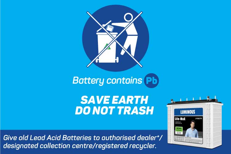 Hazards of Lead Acid Battery: Acid spillage & Contamination