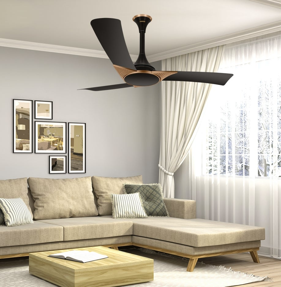 Why Do Most Ceiling Fans In India Have 3 Blades Luminous India