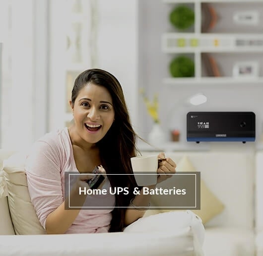 Home Ups & batteries
