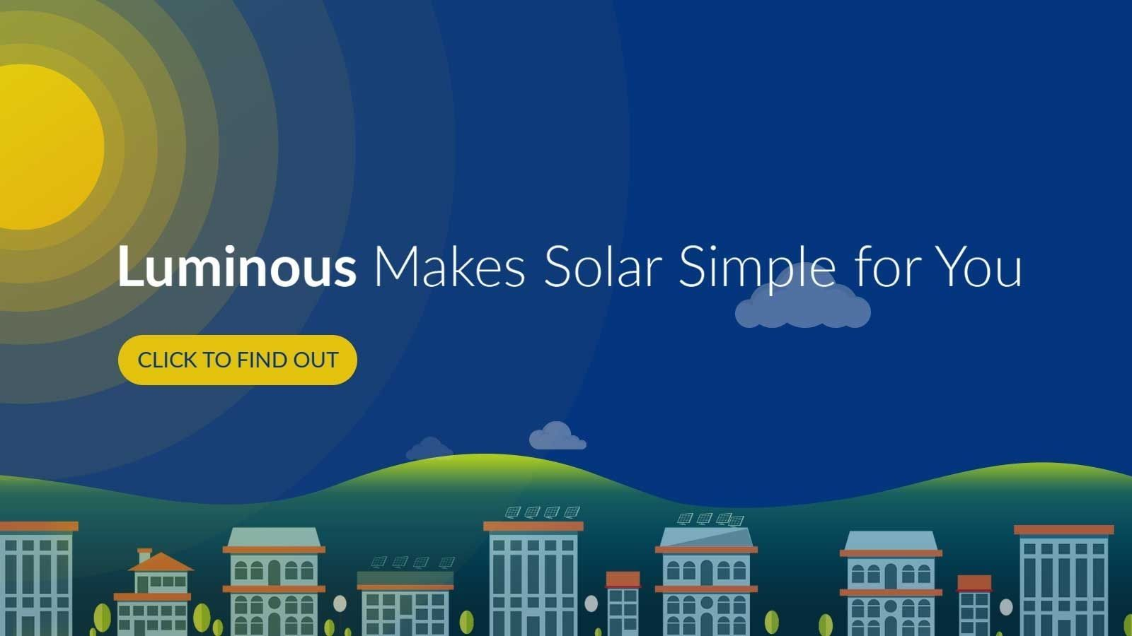 Luminous makes solar simple for you
